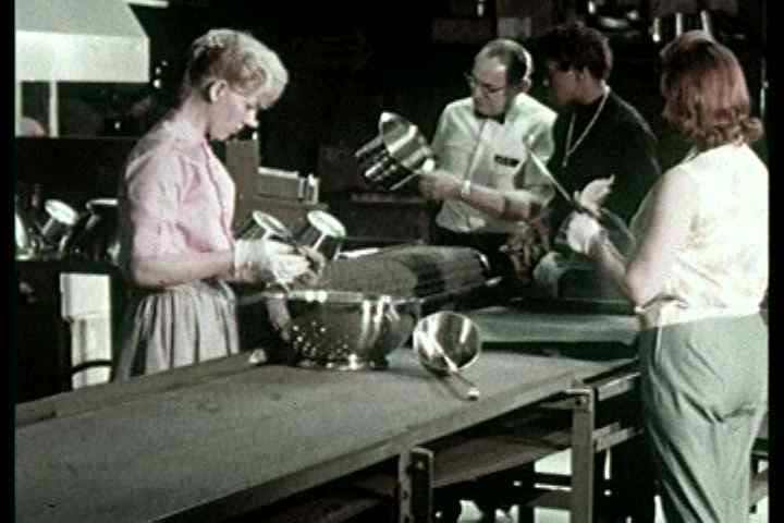 1960s - More samples of how items are produced by Bloomfield Industries. Lots of production line factory shots.
