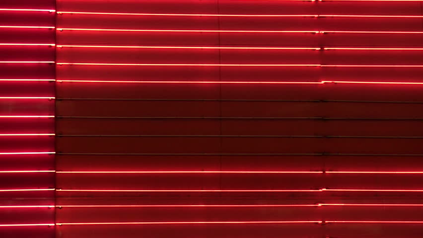 Vegas Neon Red Bars