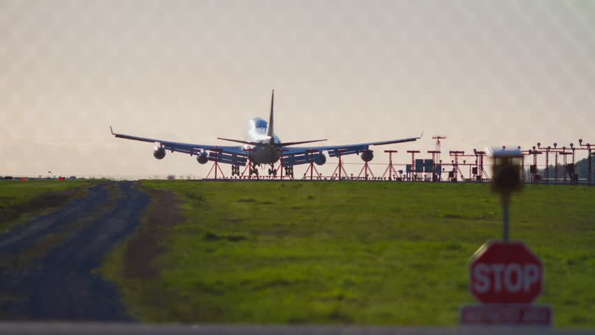 Airplane arrived at the YVR airport in the afternoon. Photo Sequence shot on DSLR camera and post production in After Effects