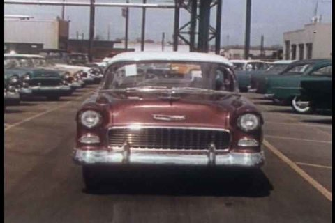 1950s - Chevrolet cars and factories spur economic growth and are everywhere in the 1950s.