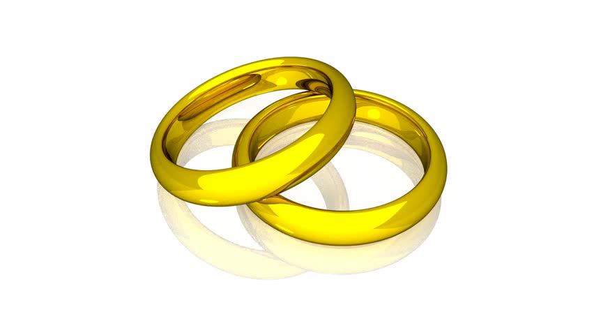 Stock Video Clip Of Wedding Rings