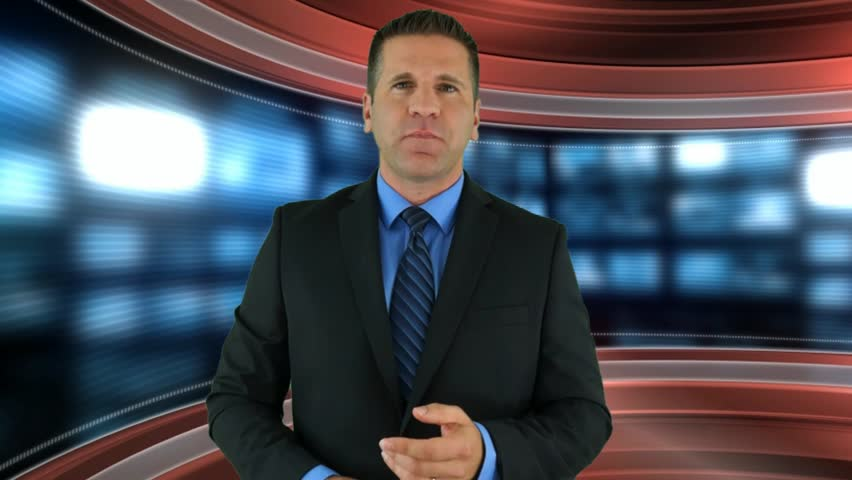 A Newscaster Introduces a Video SEO Service