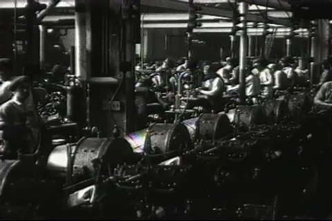 1920s - The interior of the Ford factory in 1926.