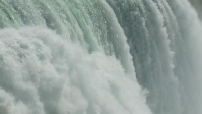 Slow Motion of Niagara Horseshoe Falls Summertime | Shutterstock HD Video #4170013