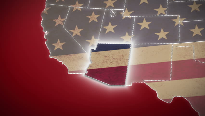 USA Map California Pull Out No Signs Or Letters So You Can