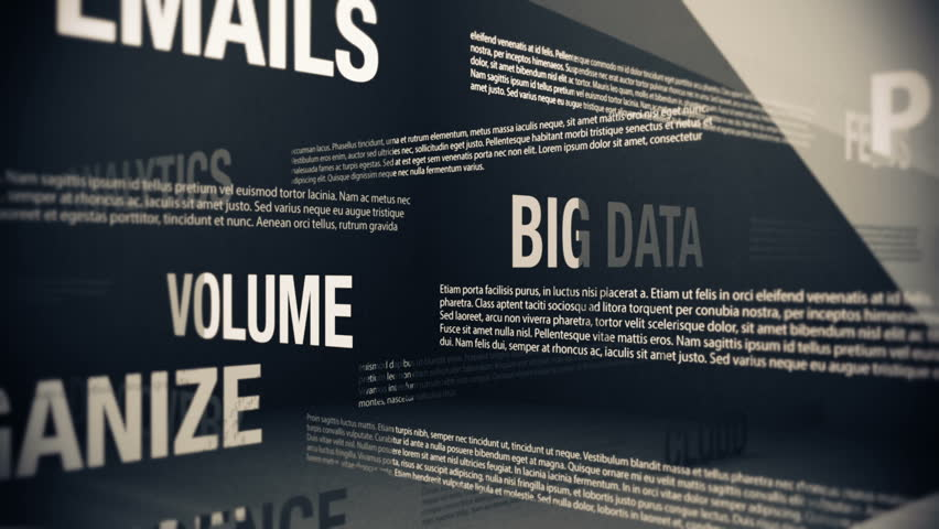 Big Data Related Terms | Shutterstock HD Video #4410047