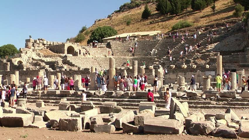 Древнегреческая агора видео