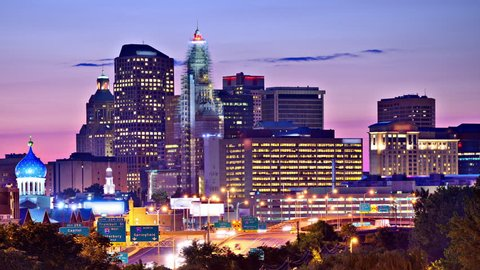 Downtown Hartford, Connecticut skyline.