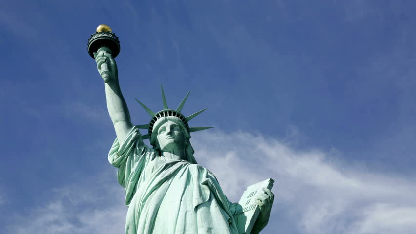 Statue of liberty, time lapse | Shutterstock HD Video #4587653