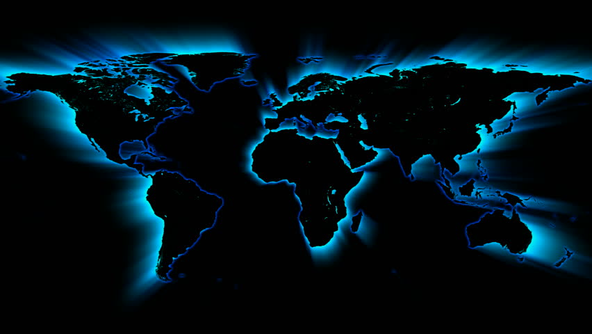 Glowing blue map stock footage video 461683 shutterstock gumiabroncs Gallery