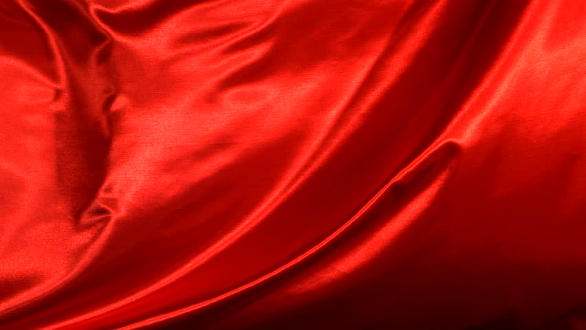 Red silk fabric blowing in the wind | Shutterstock HD Video #4617263