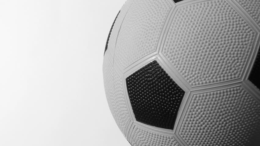 Soccer ball against white loop V2 | Shutterstock HD Video #466663