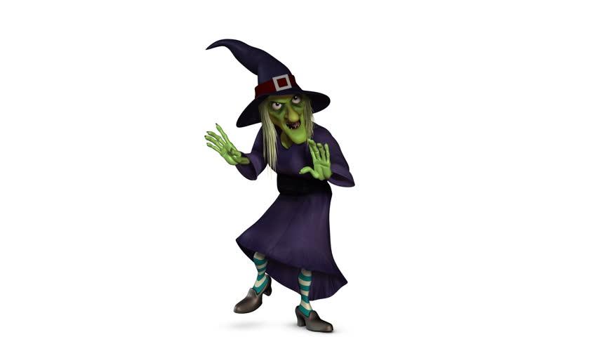 halloween witch dance