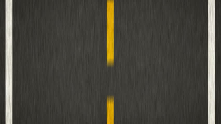 Yellow Line On New Asphalt Road. Top view. | Shutterstock HD Video #4699283