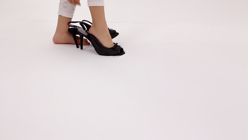 Little Girl Feet Stock Footage Video  Shutterstock-3485