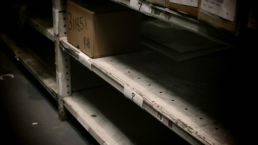 Warehouse Stock Shelving.