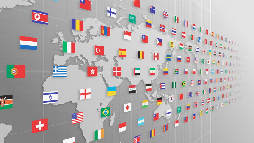 National flag and world map stock footage video 100 royalty free national flag and world map stock footage video 100 royalty free 473983 shutterstock gumiabroncs Image collections