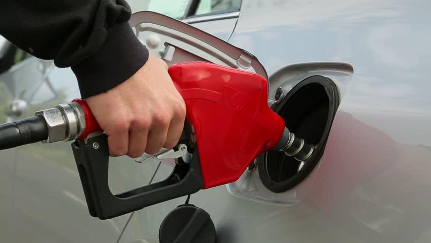 Filling fuel into a car