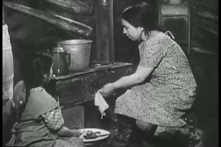 1940s - An eskimo narrates a film about life in the Arctic in the late 1940s.
