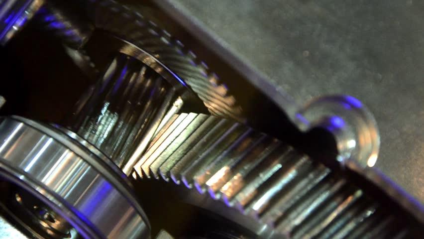 Rotating gears | Shutterstock HD Video #4850498