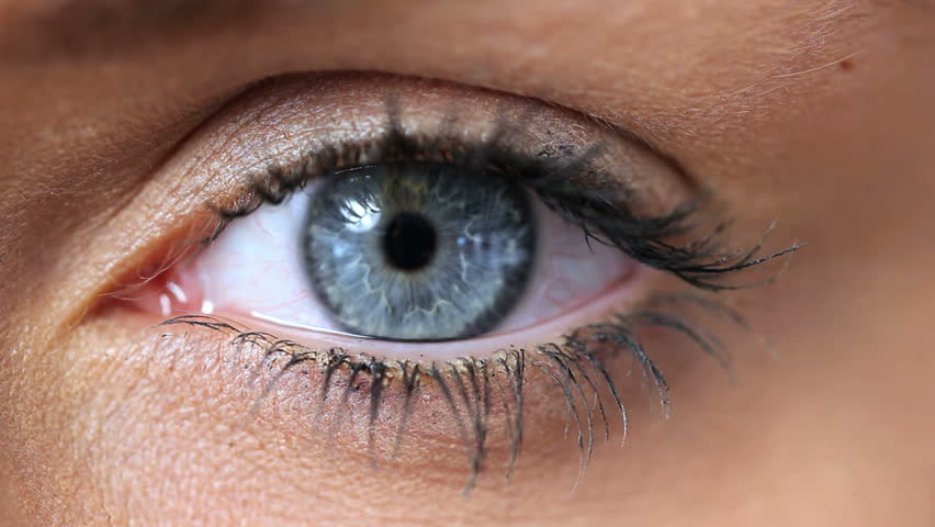 eye close up stock footage video shutterstock