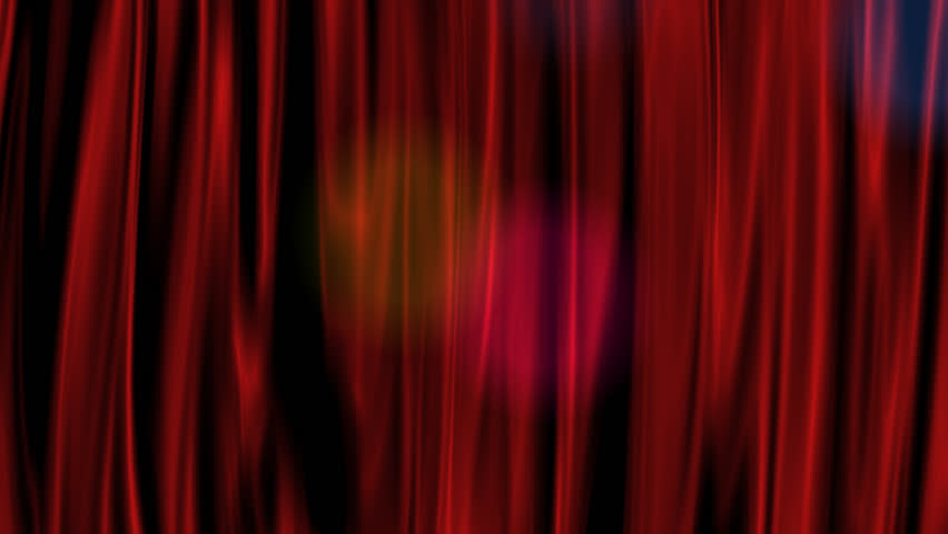 Red Curtain with Alpha Channel  | Shutterstock HD Video #4915523