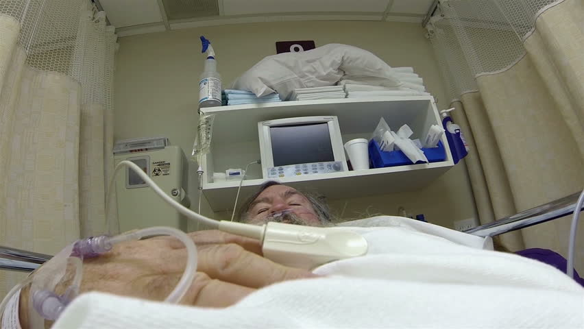 Recovery patient after surgery