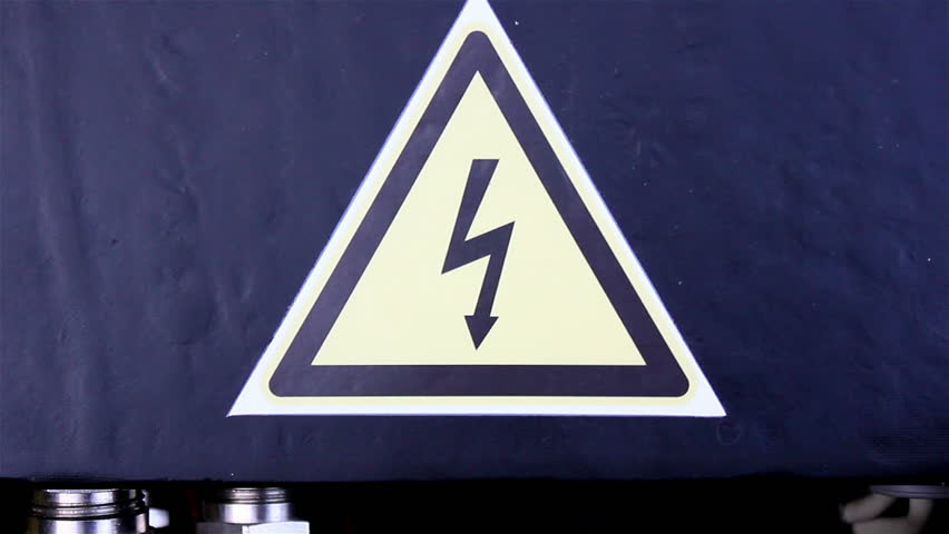 High Voltage Sign in Electric Stock Footage Video (100% Royalty-free)  4948043 | Shutterstock