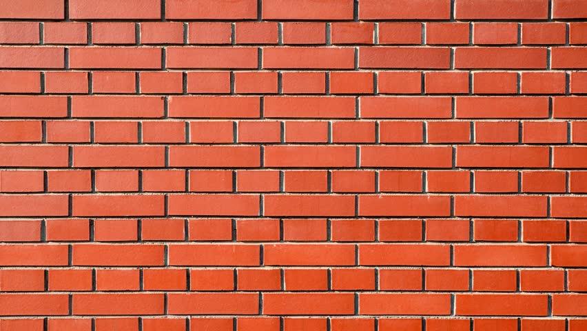Brick Wall Zoom In 1920x1080 Full HD Video Stock Footage 4956443