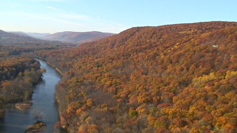 Housatonic river valley northeast Conn.  Aerials around the Catskills and upstate NY Hudson Valley.