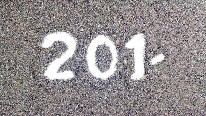 2014 stop motion writing on sand