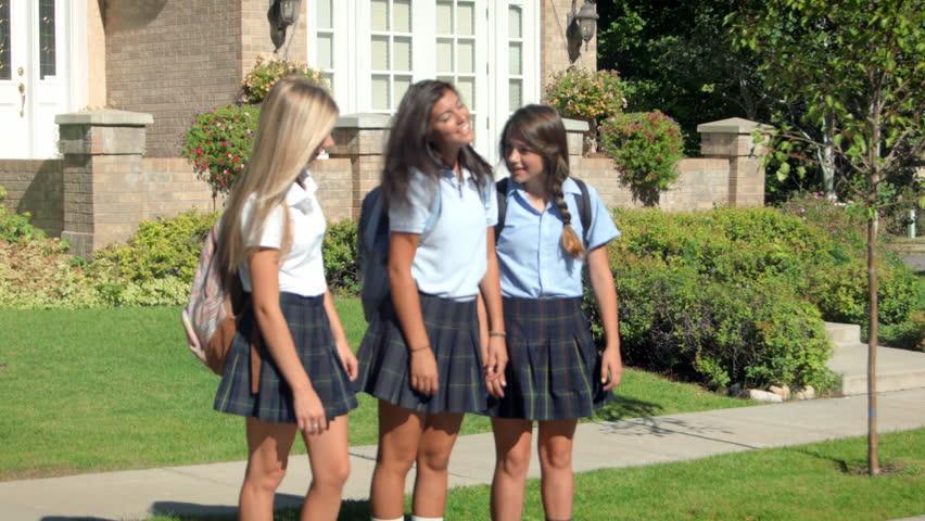 Teenage Girl Stock Footage Video  Shutterstock-5895