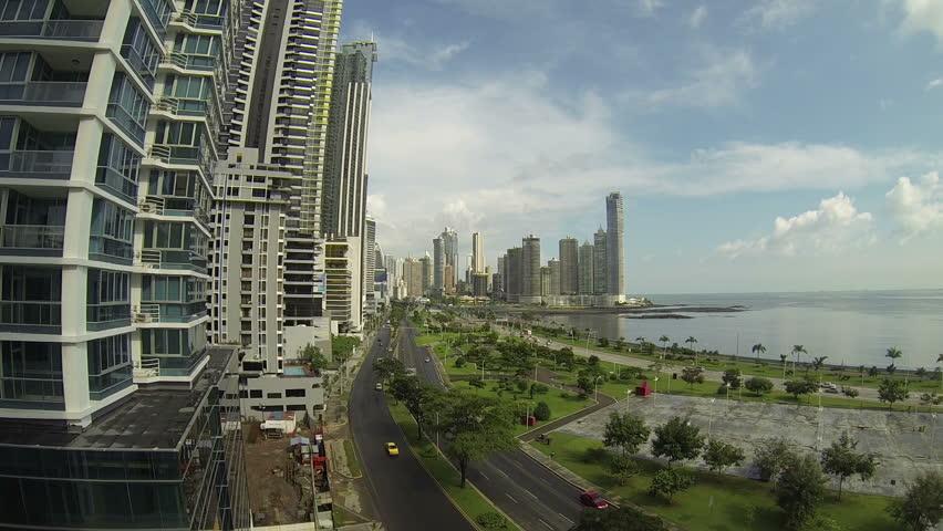 Beautiful view of Panama City #5088956