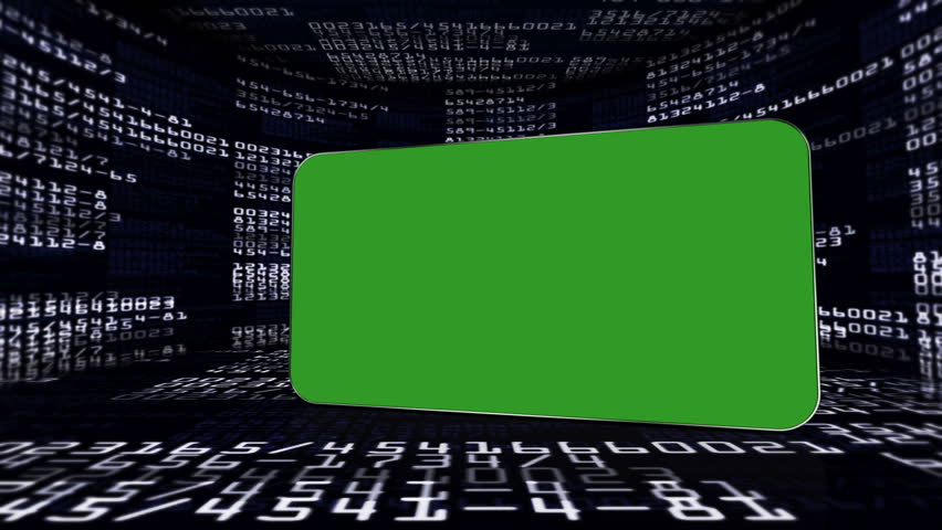 Numbers in Monitors and Green Screen Monitor, with Alpha Channel   Shutterstock HD Video #5107763
