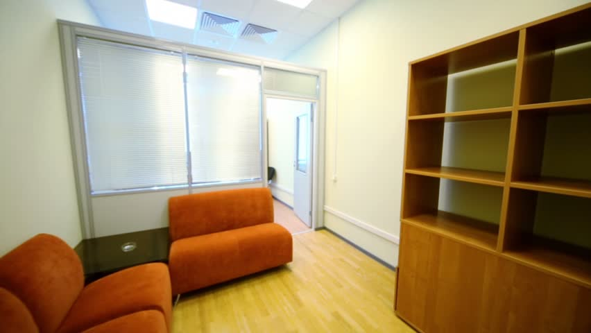 Furniture Design Videos interior of small empty cabinet with office furniture stock