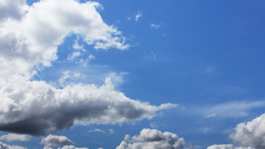 Blue sky timelapse. Full HD | Shutterstock HD Video #5114393