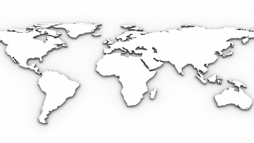 World map white background royalty free video world map white background gumiabroncs Choice Image