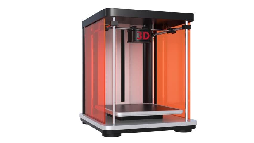 3D print demonstration   Shutterstock HD Video #5145155