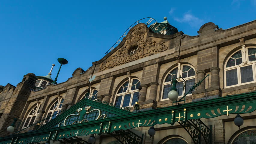 Royal Hall Theatre in Harrogate time lapse