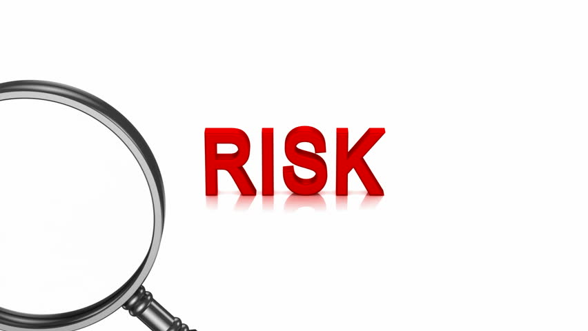 Analysis of Risk. White background, 3 in 1