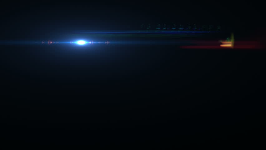 Lens flare effect on black background (small nice) | Shutterstock HD Video #5215763