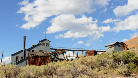 Time Lapse of Bodie California - Abandon Mining Ghost Town - Daytime - 4K, UHD Ultra HD resolution
