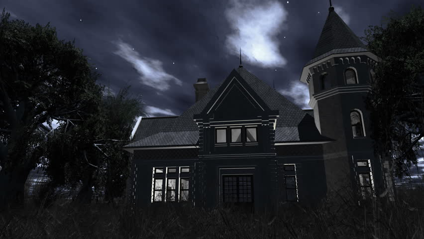 Abandoned Horror House In The Middle Of Deep Dark Spooky