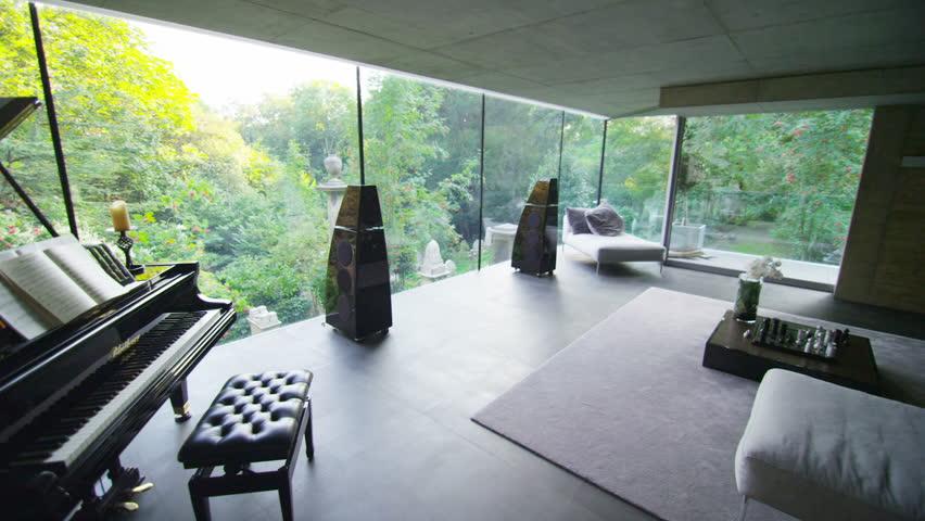 Interior Design: Modern Bedroom Stock Footage Video 5862587 ...