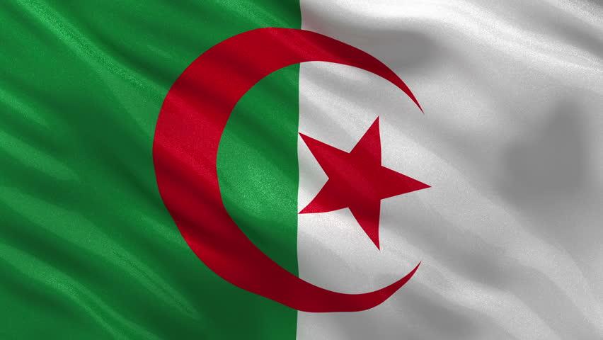Algeria Flag Wallpaper Hd