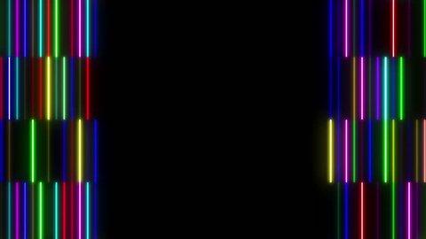 Neon light Tube.