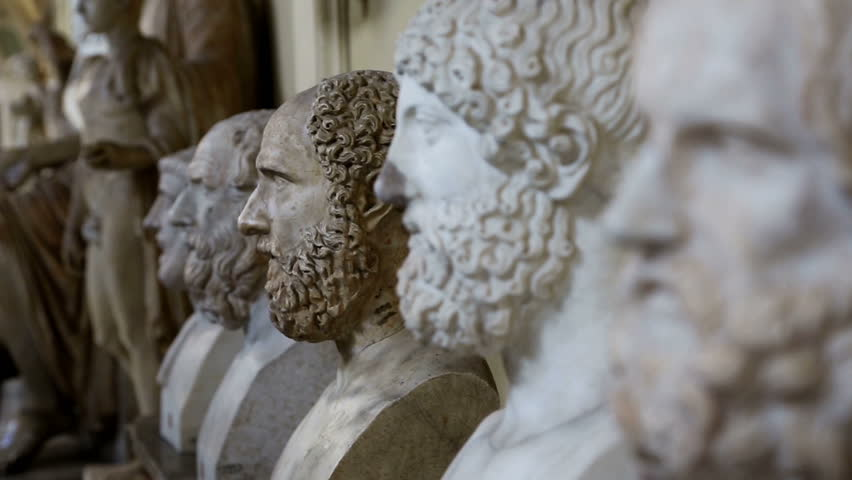 Busts in the Vatican