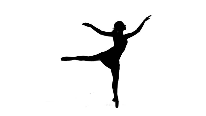 Dancer Silhouette Stock Footage Video | Shutterstock