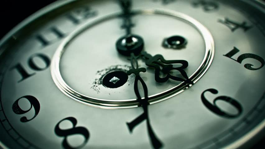 Clock Face /  Clockface - 3D Animation / 3D Animation Of An Ancient Clockface.