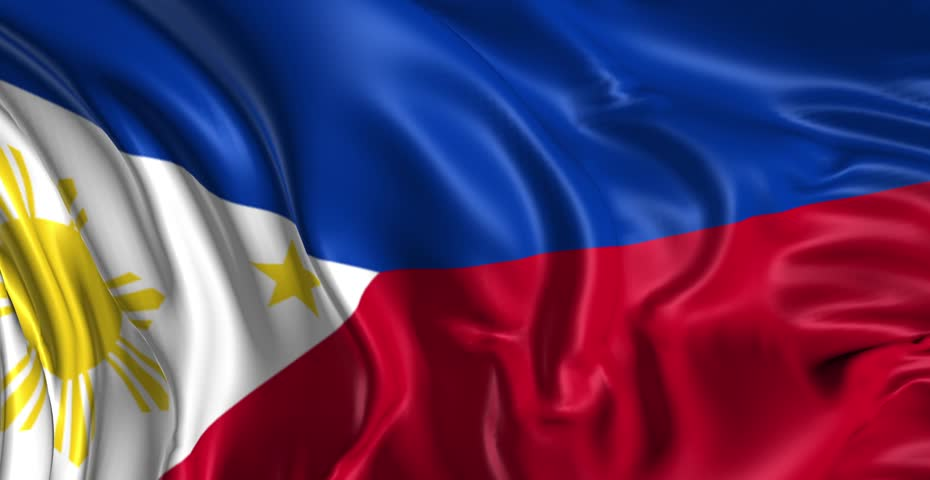 Photo Collection Realistic Philippine Flag By